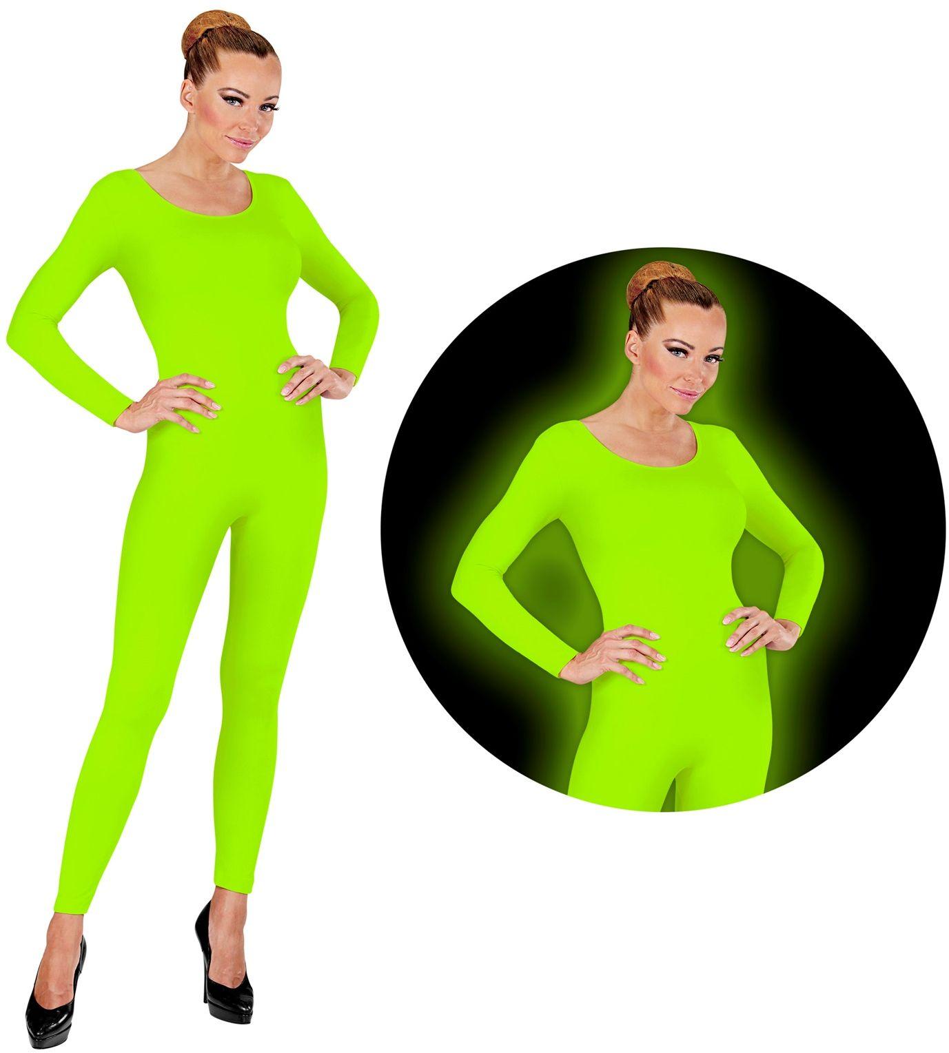 Neon groene bodysuit