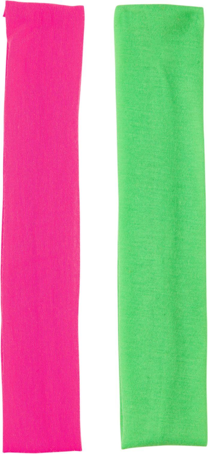 Neon groene en neon roze hoofdband