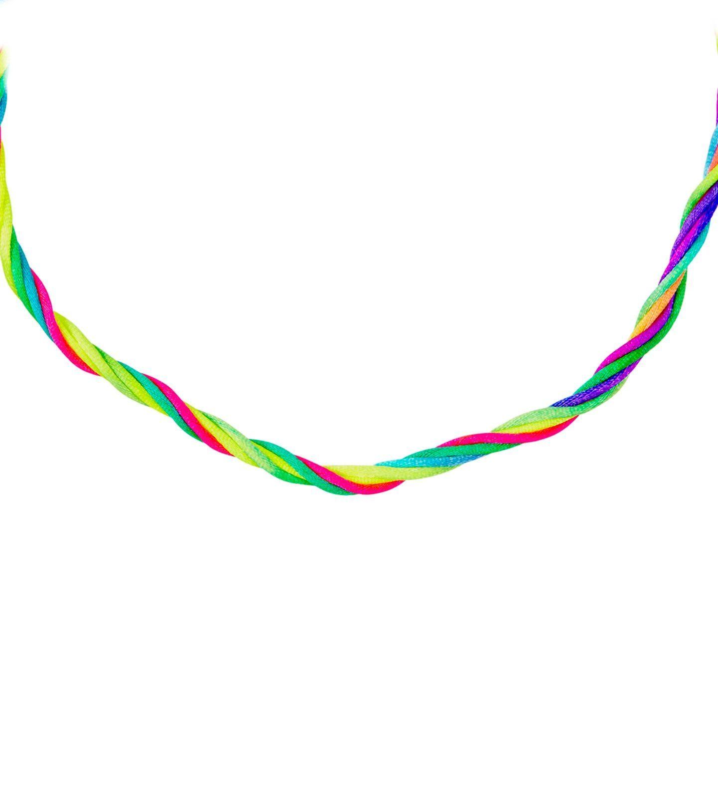 Neon meerkleurige ketting