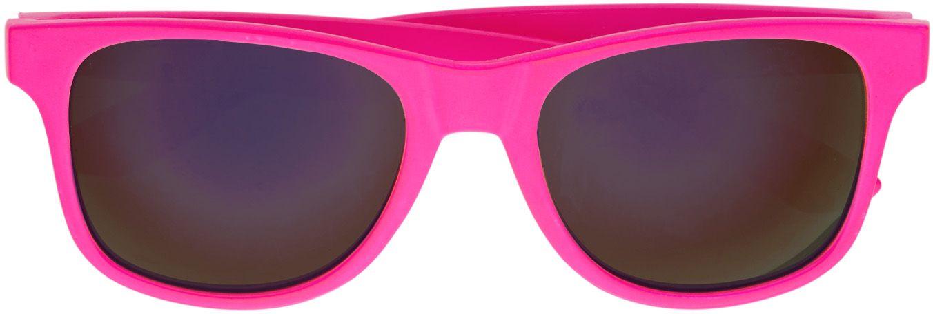 Neon roze 80s bril