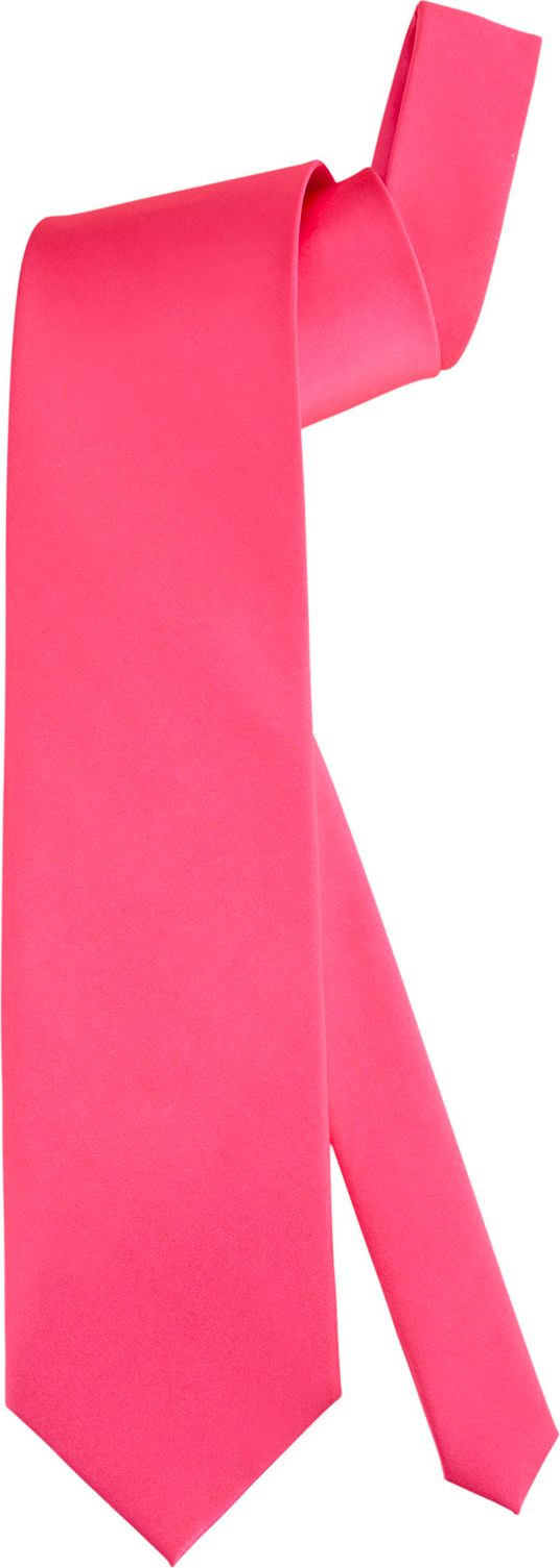 Neon roze stropdas