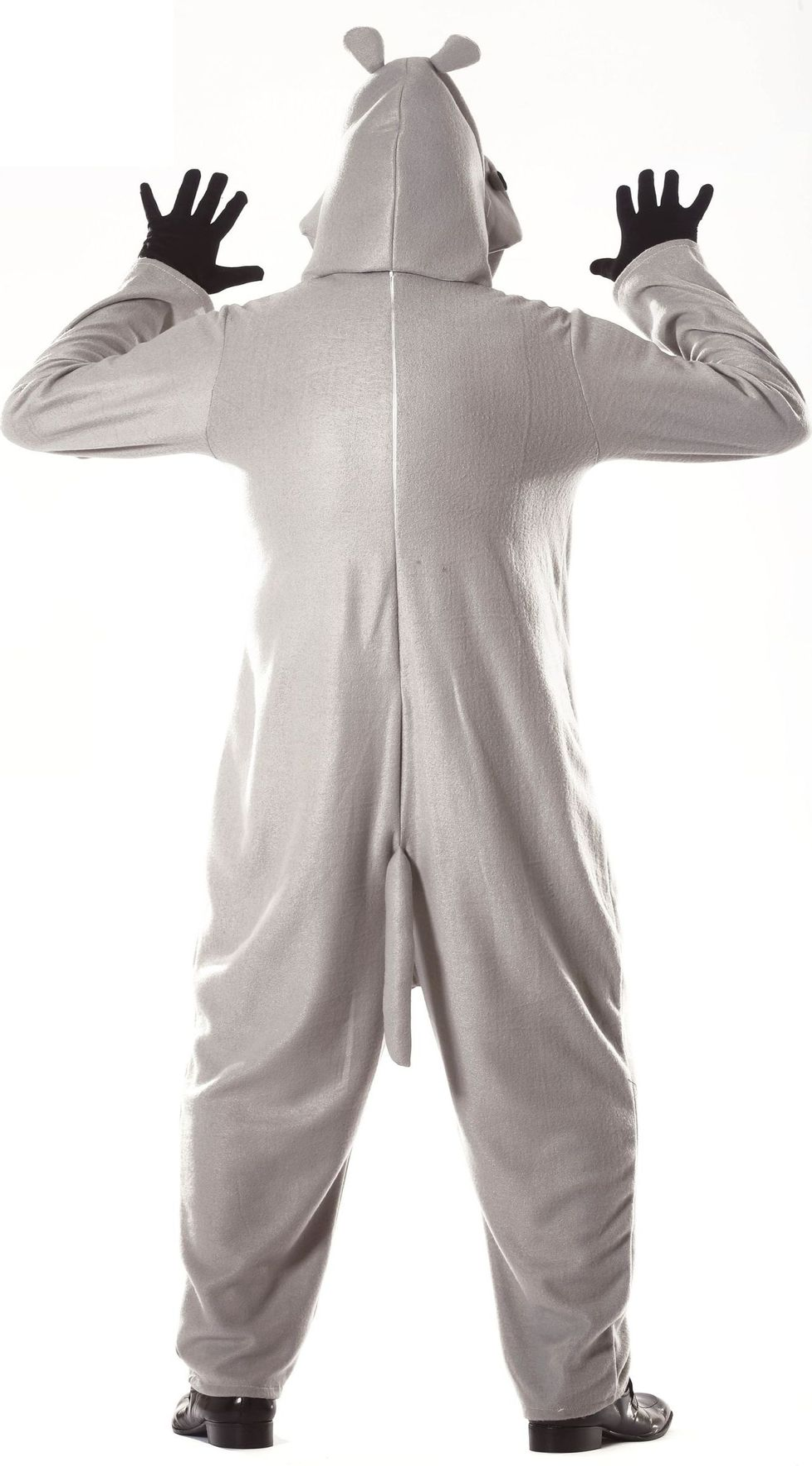 Nijlpaard kostuum warm