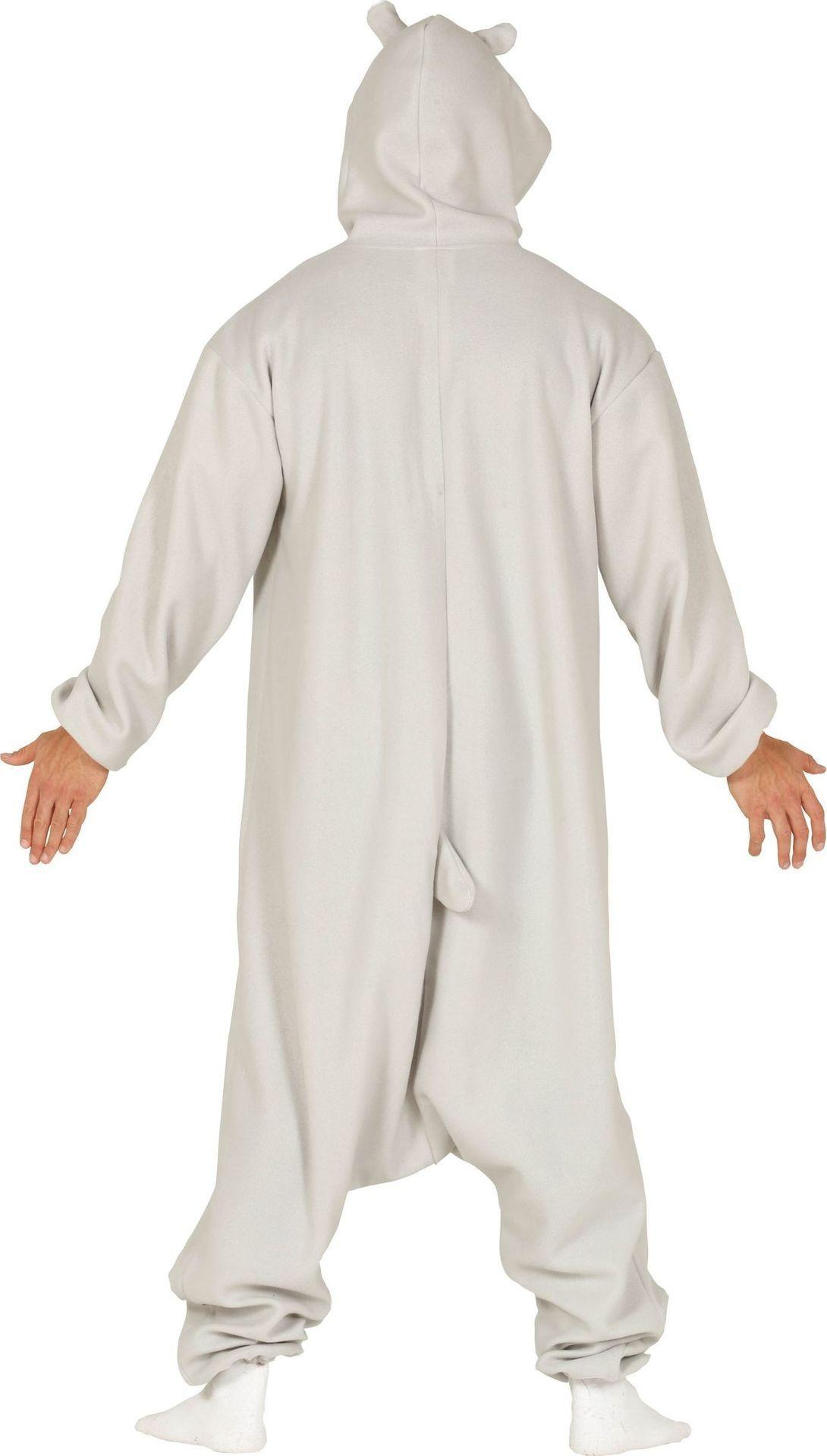 Nijlpaard kostuumvolwassenen