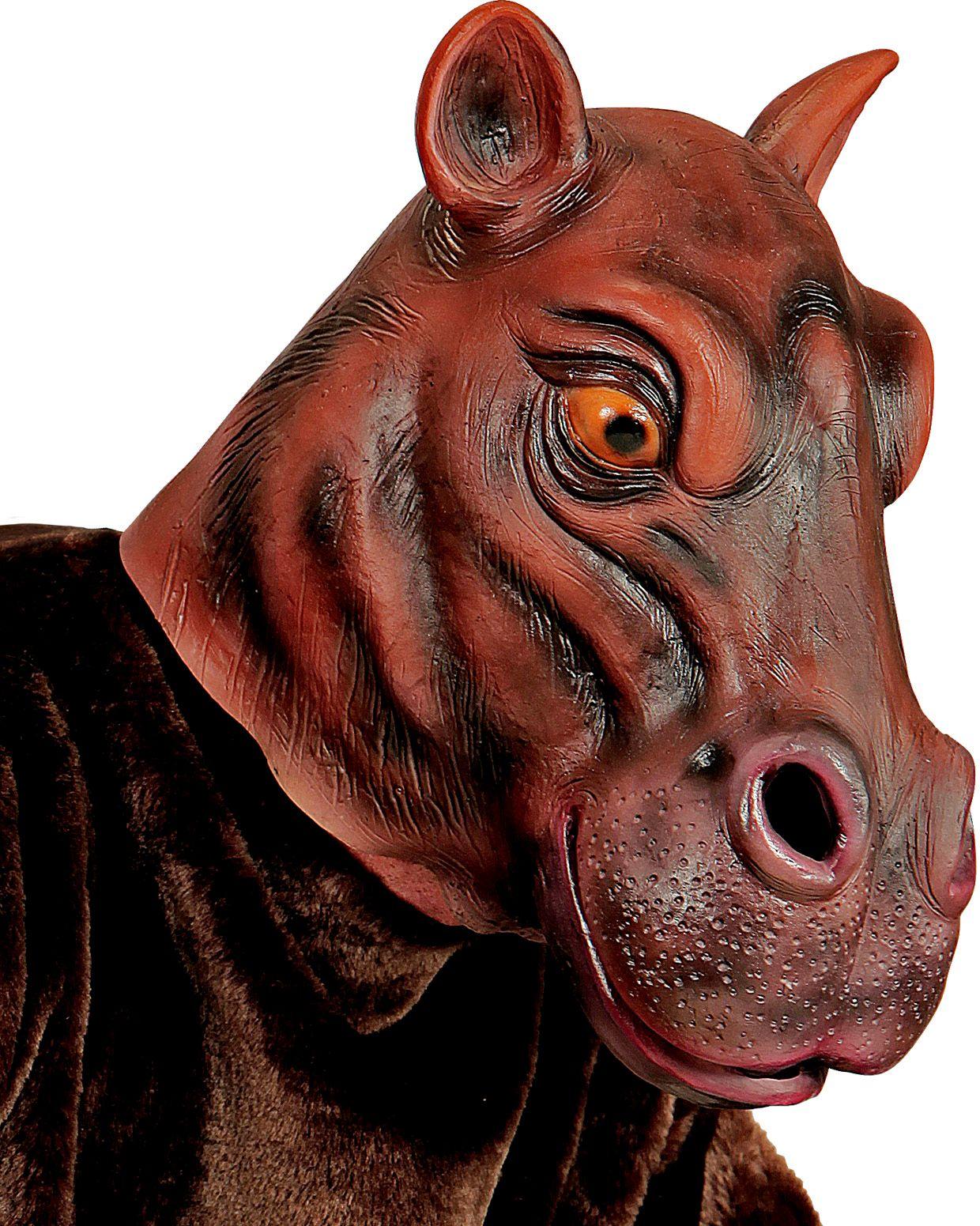Nijlpaardenhoofd masker