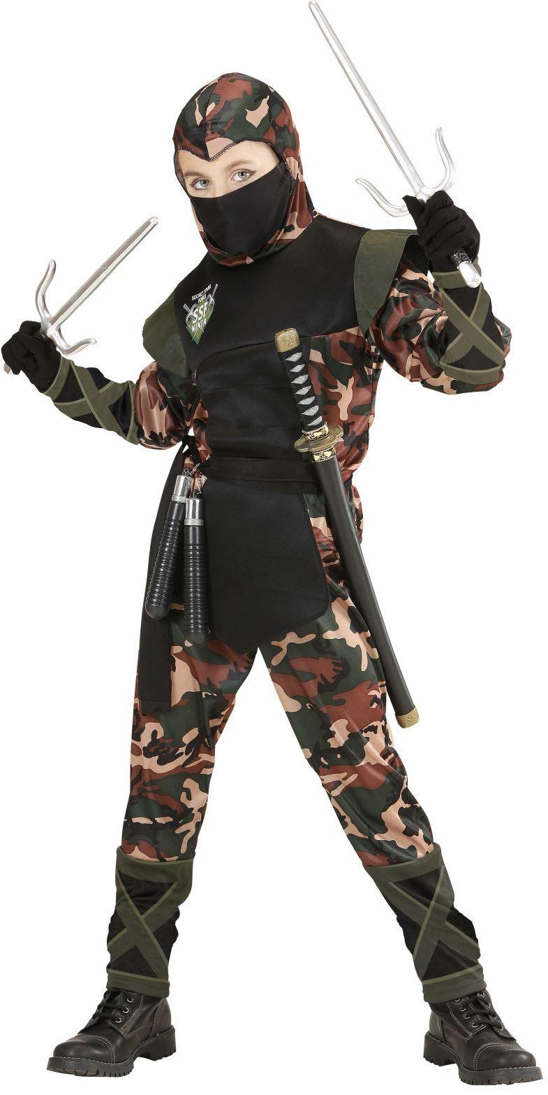Ninja soldaat kostuum