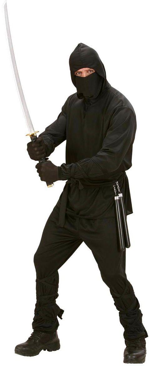 Ninja zwart kostuum