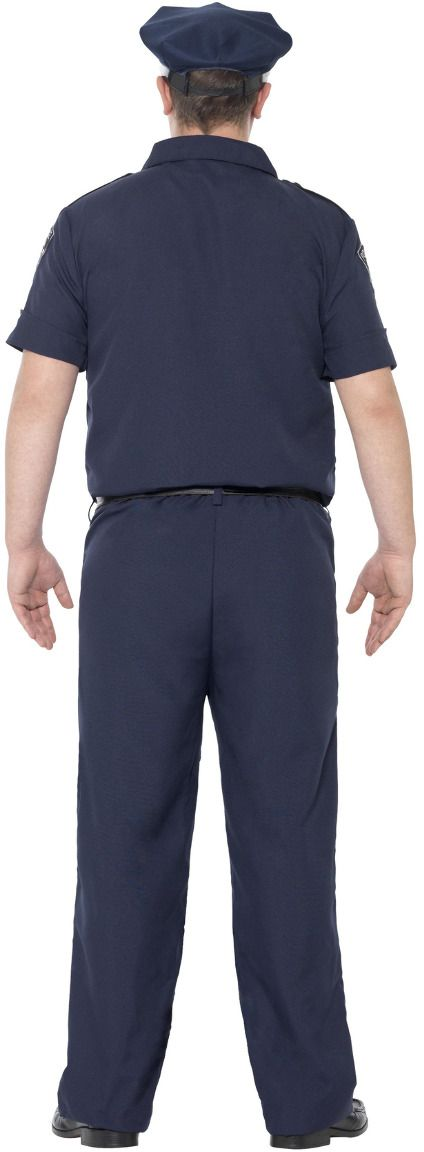 NYC politieagent kostuum