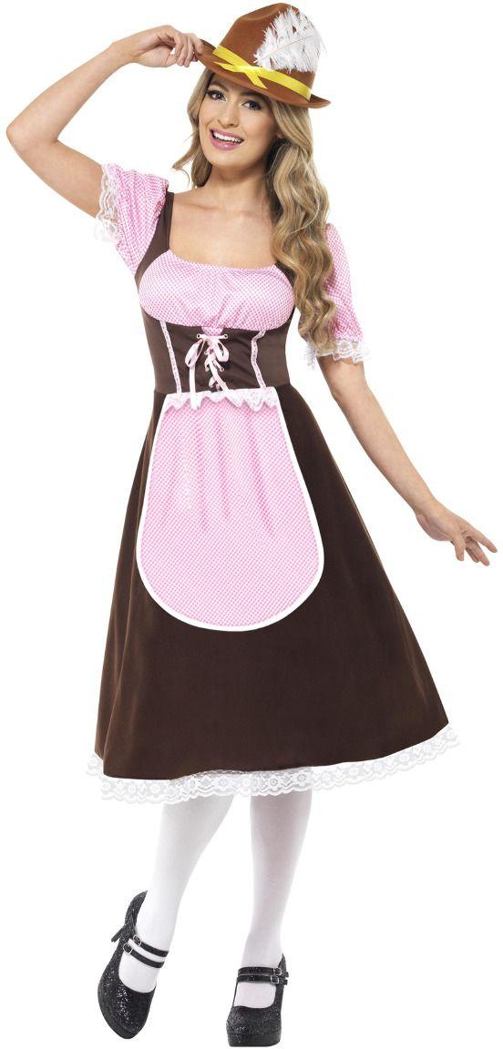Oktoberfest herberg jurk dames
