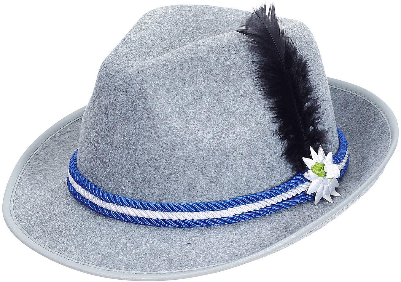 Oktoberfest hoed grijs