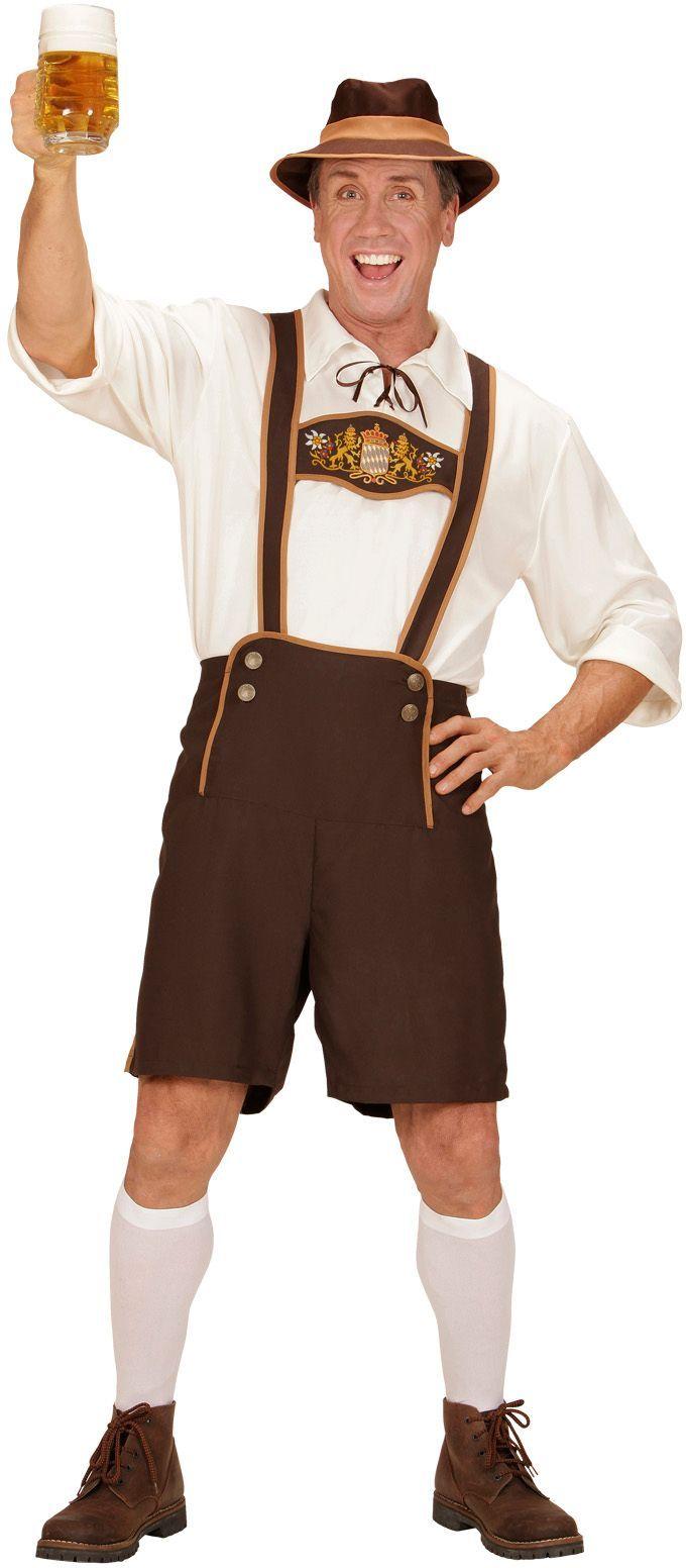 Oktoberfest kostuum wit