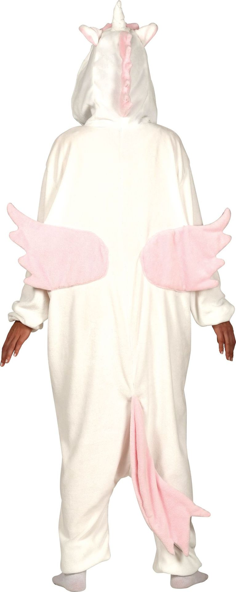 Onesie Unicorn roze warm