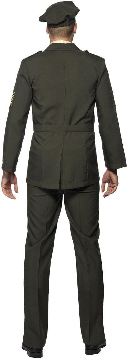 Oorlogs officier kostuum