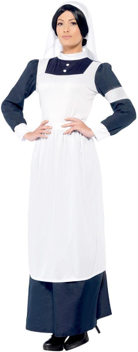 Oorlogse zuster kostuum