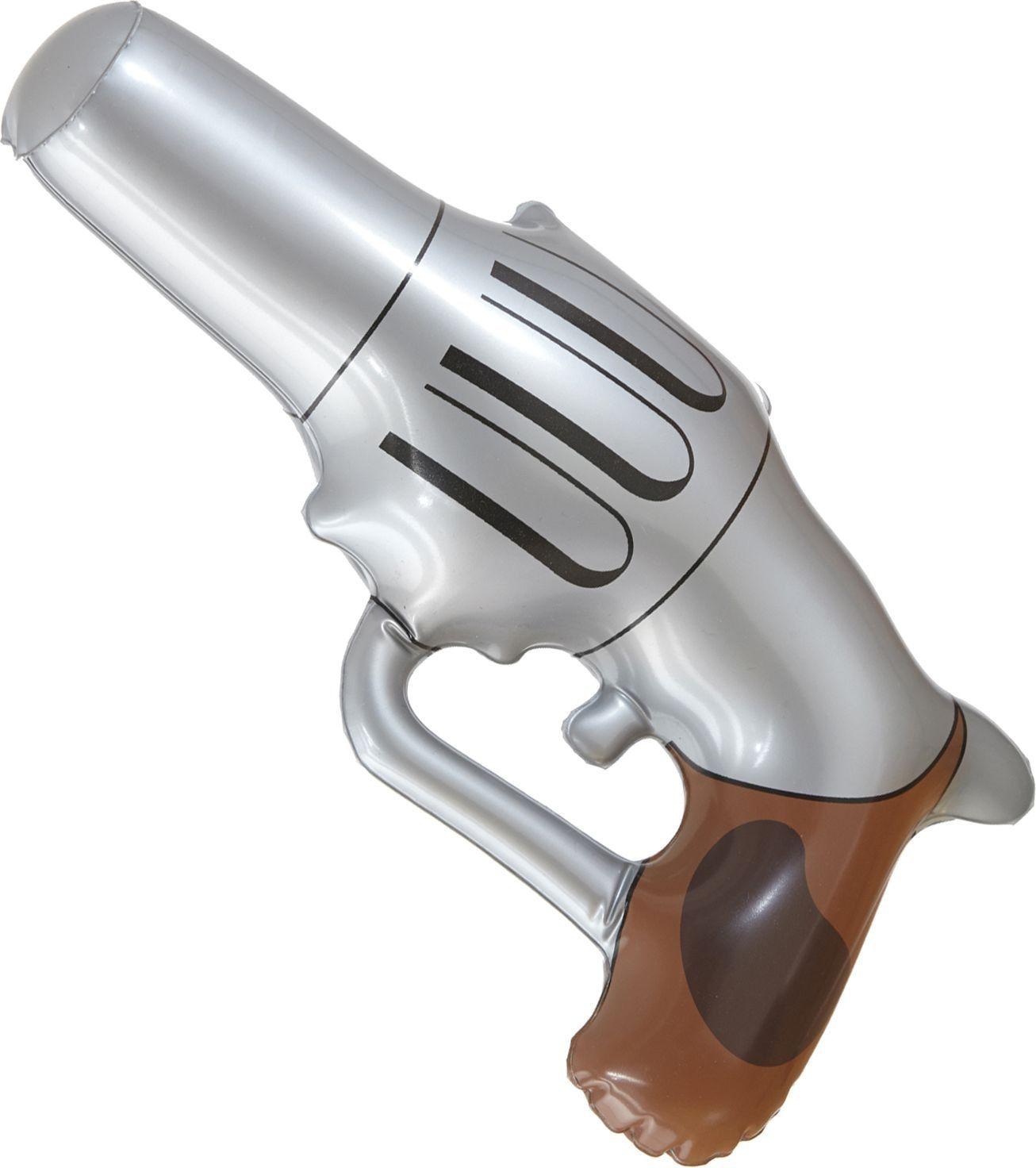 Opblaasbaar cowboy pistool