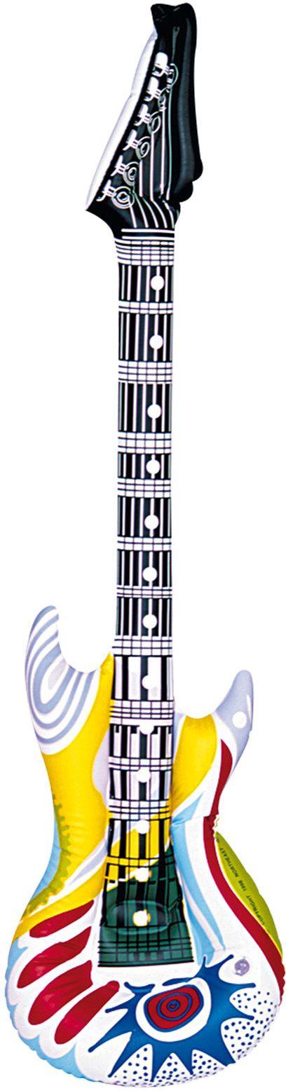 Opblaasbaar funky gitaar