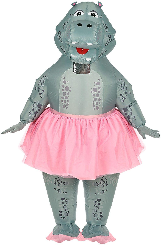 Opblaasbaar nijlpaard kostuum