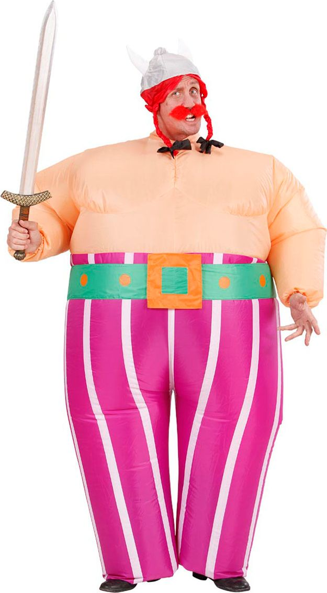 Opblaasbaar Obelix kostuum