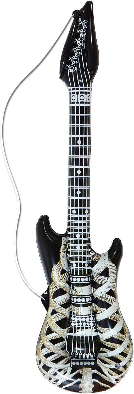 Opblaasbaar skelet gitaar