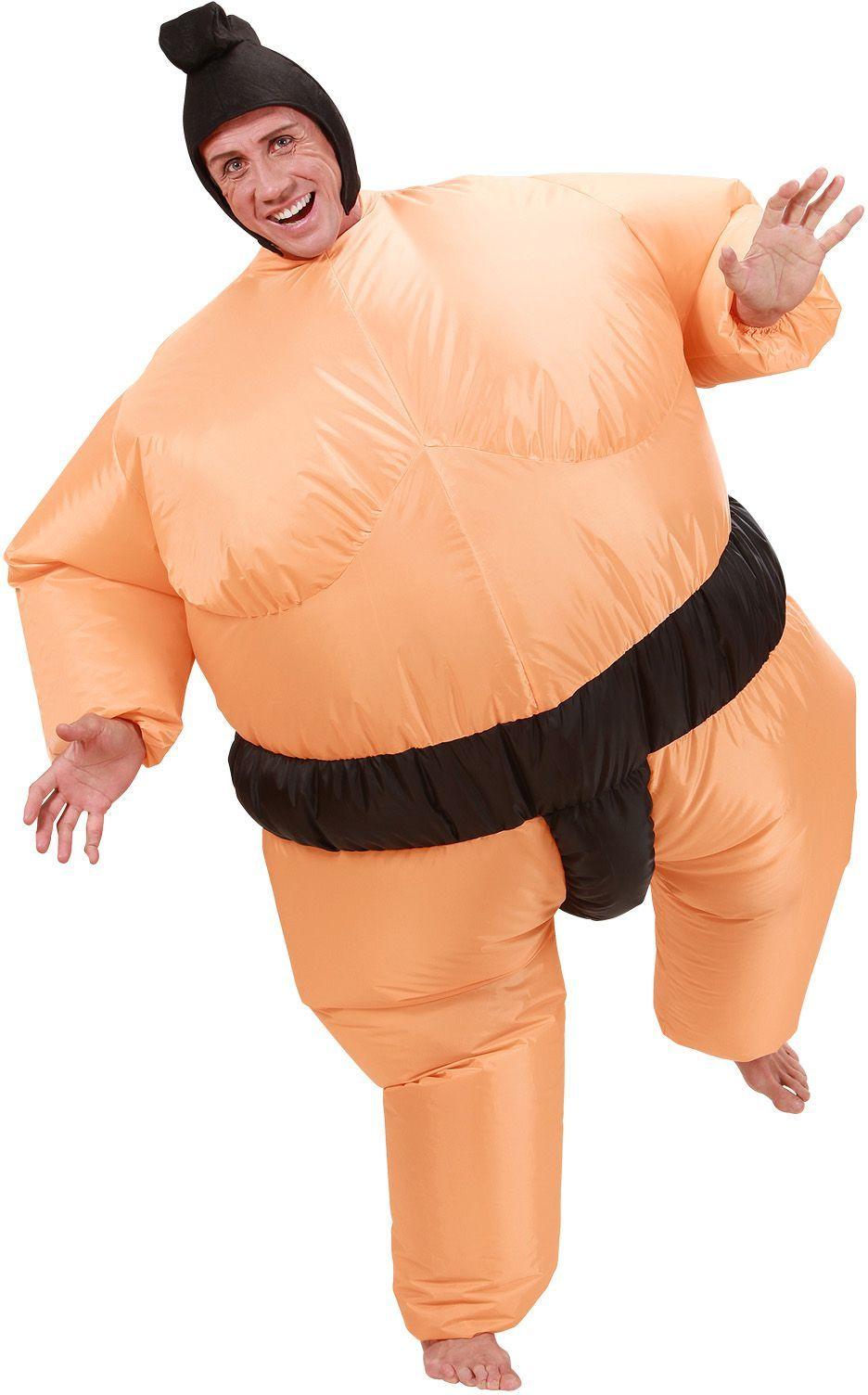 Opblaasbaar sumo worstelaar kostuum