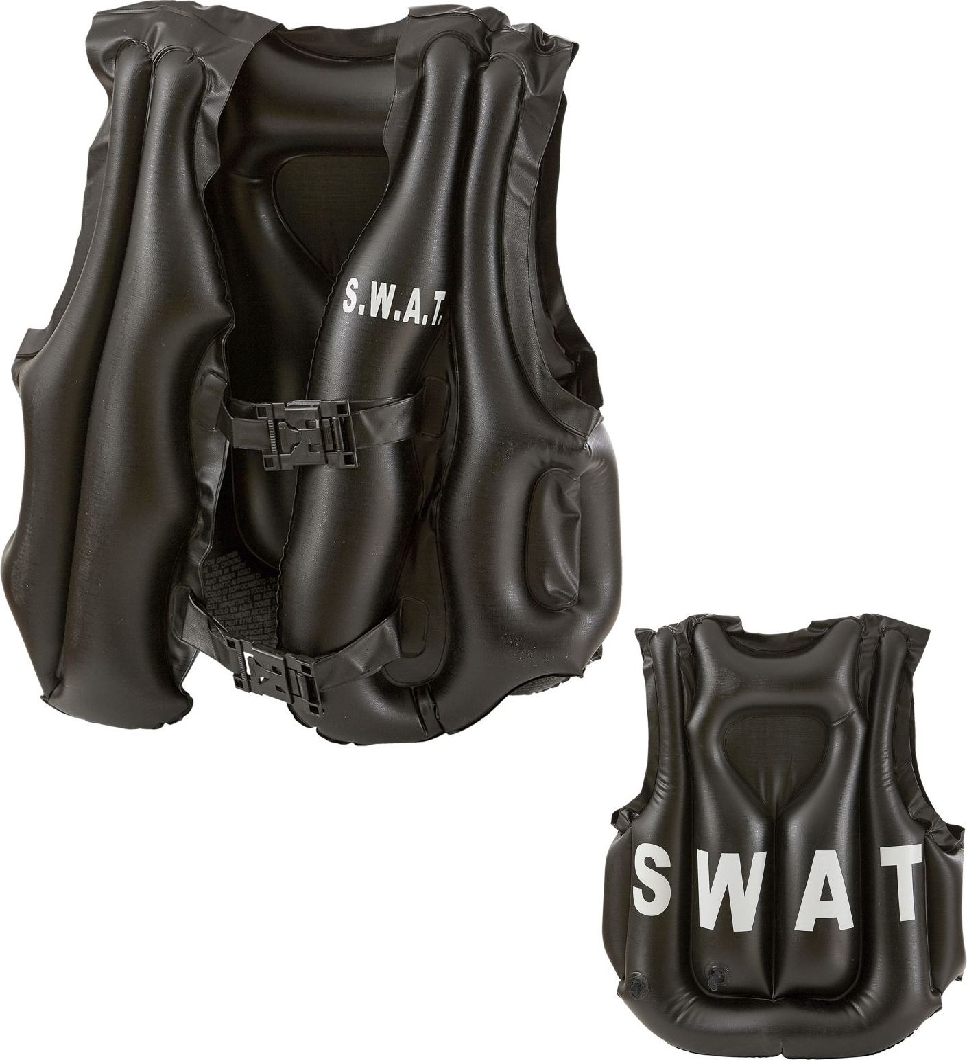 Opblaasbaar SWAT vest kind