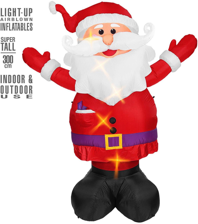 Opblaasbare kerstman kerstmis