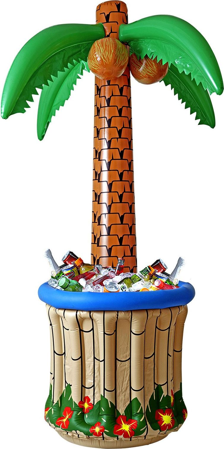 Opblaasbare palmboom koelbak