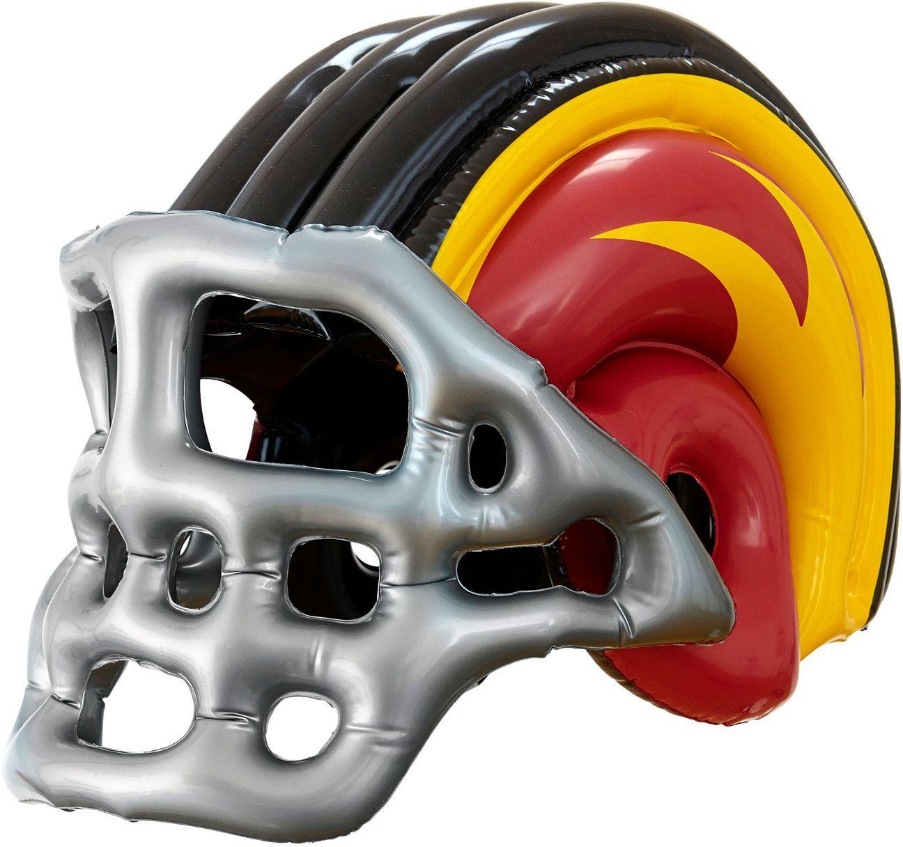 Opblaasbare rugby helm