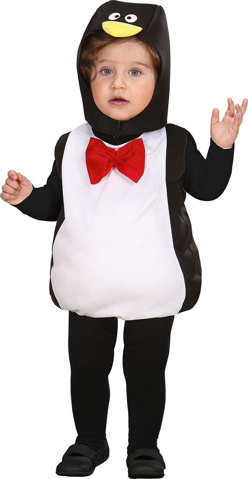 Opgevuld pinguïn kostuum