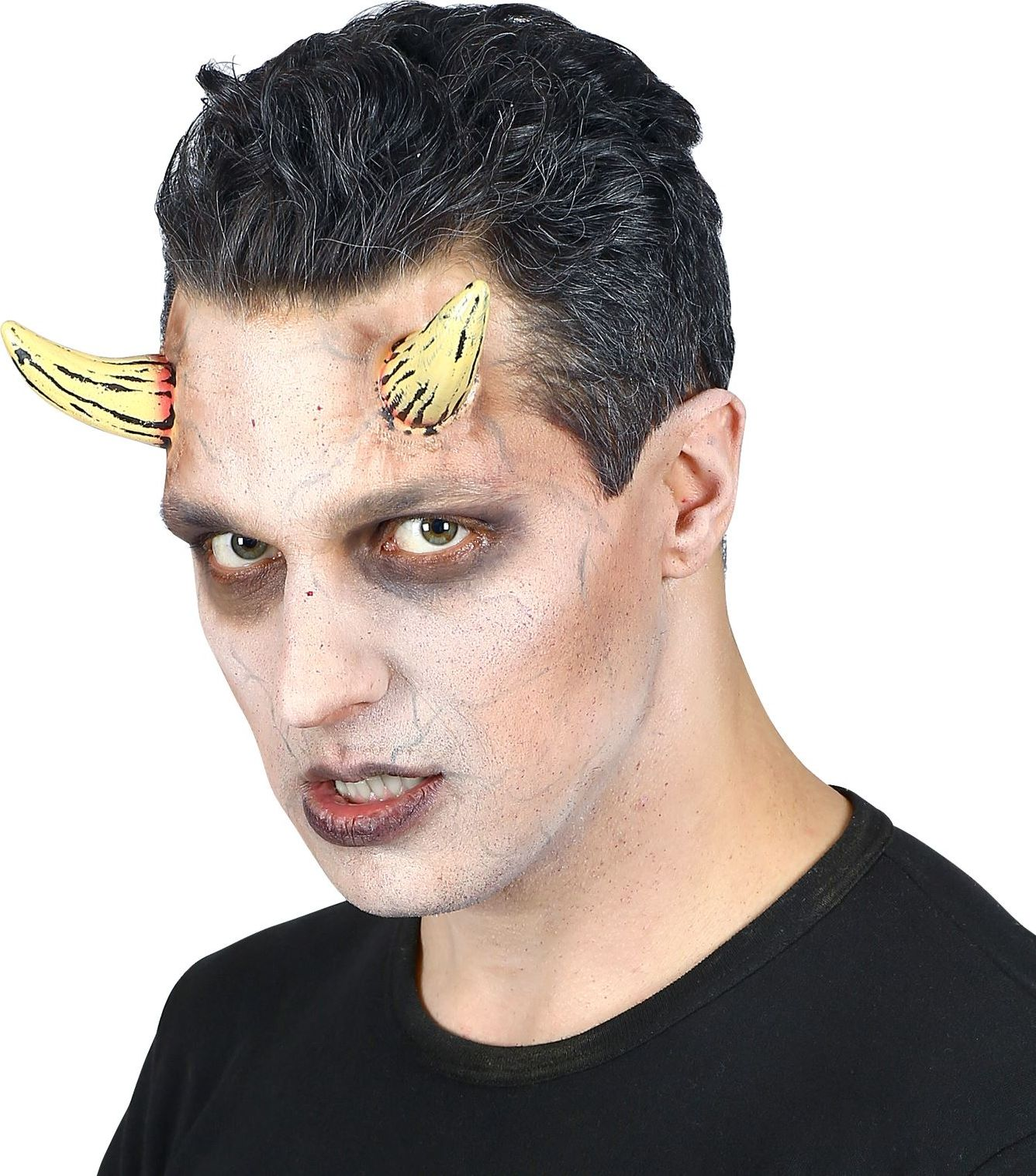 Opplakbare demonen hoorntjes