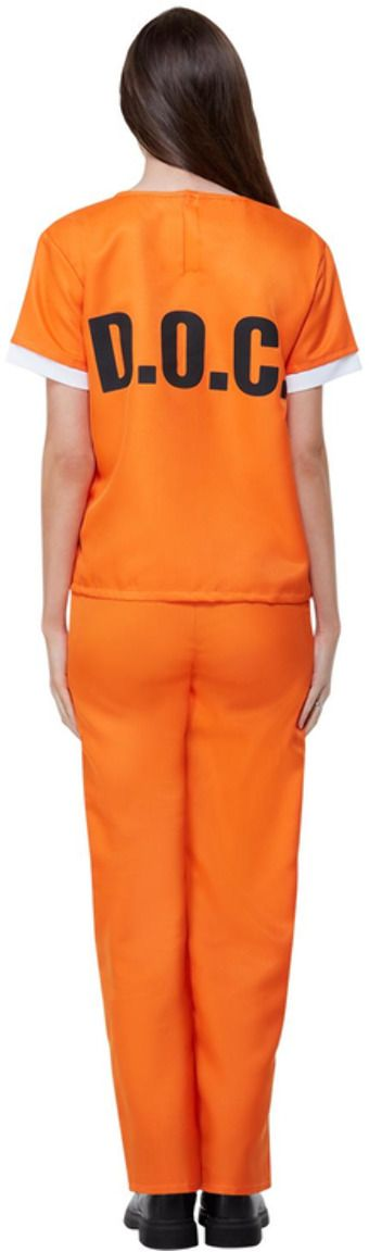 Orange is the New Black oranje dames pak