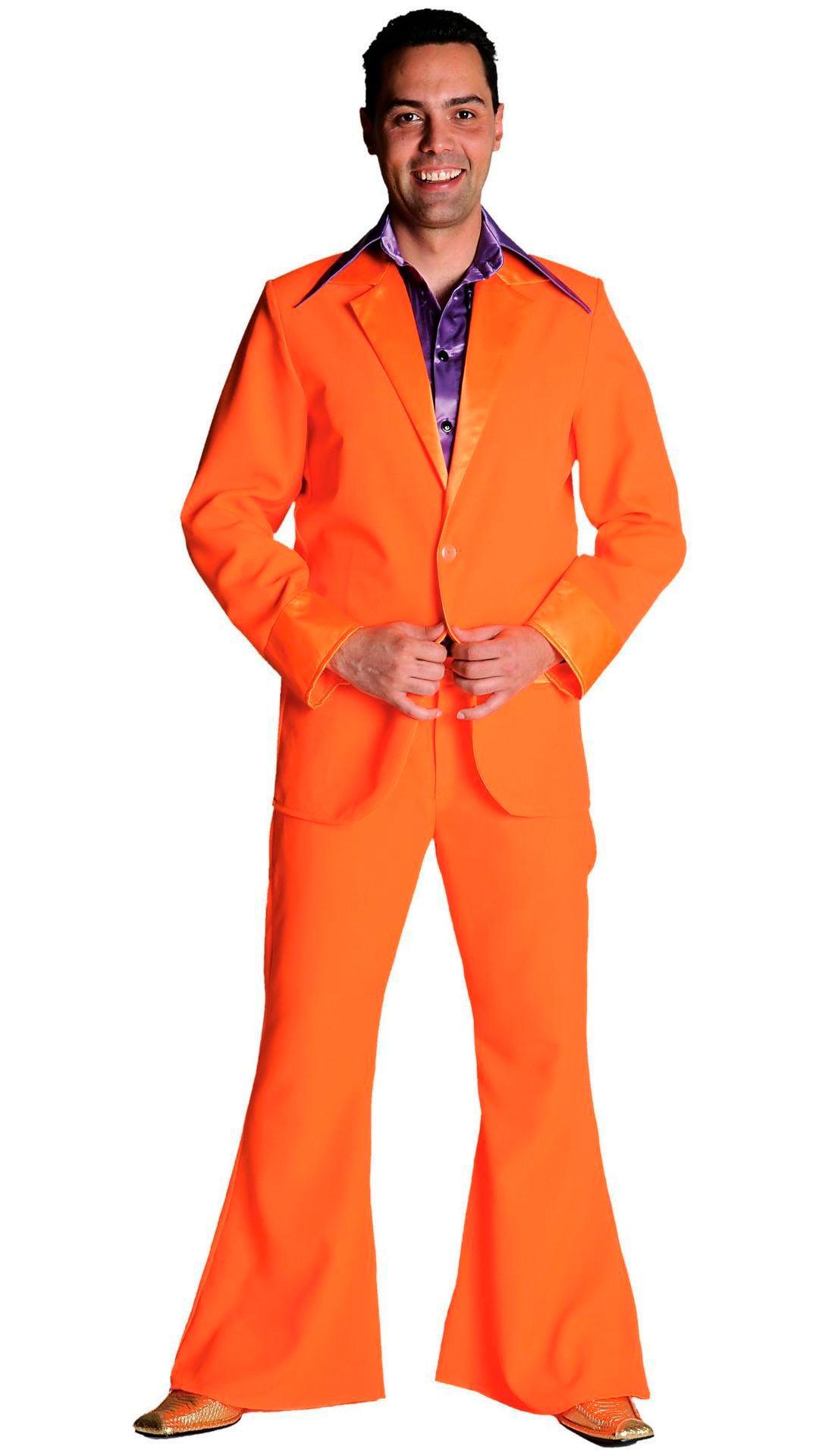 Oranje 70s pak