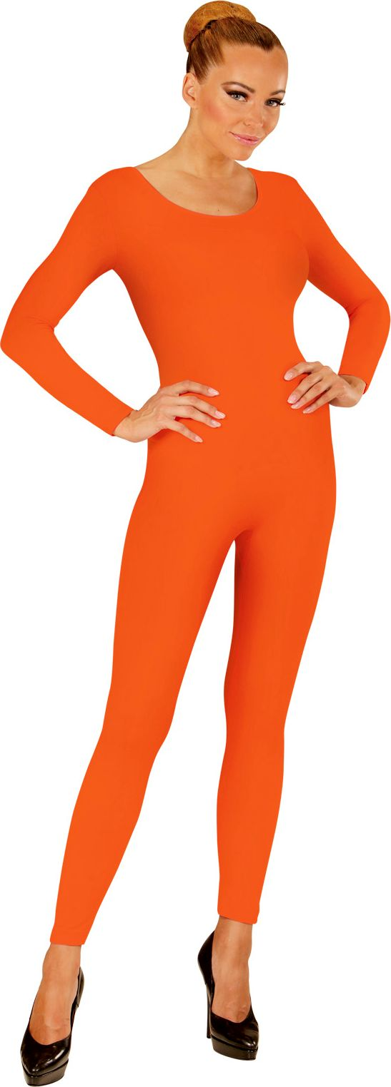 Oranje bodysuit