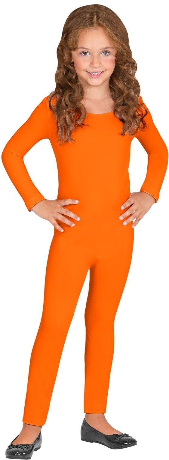Oranje bodysuit kind
