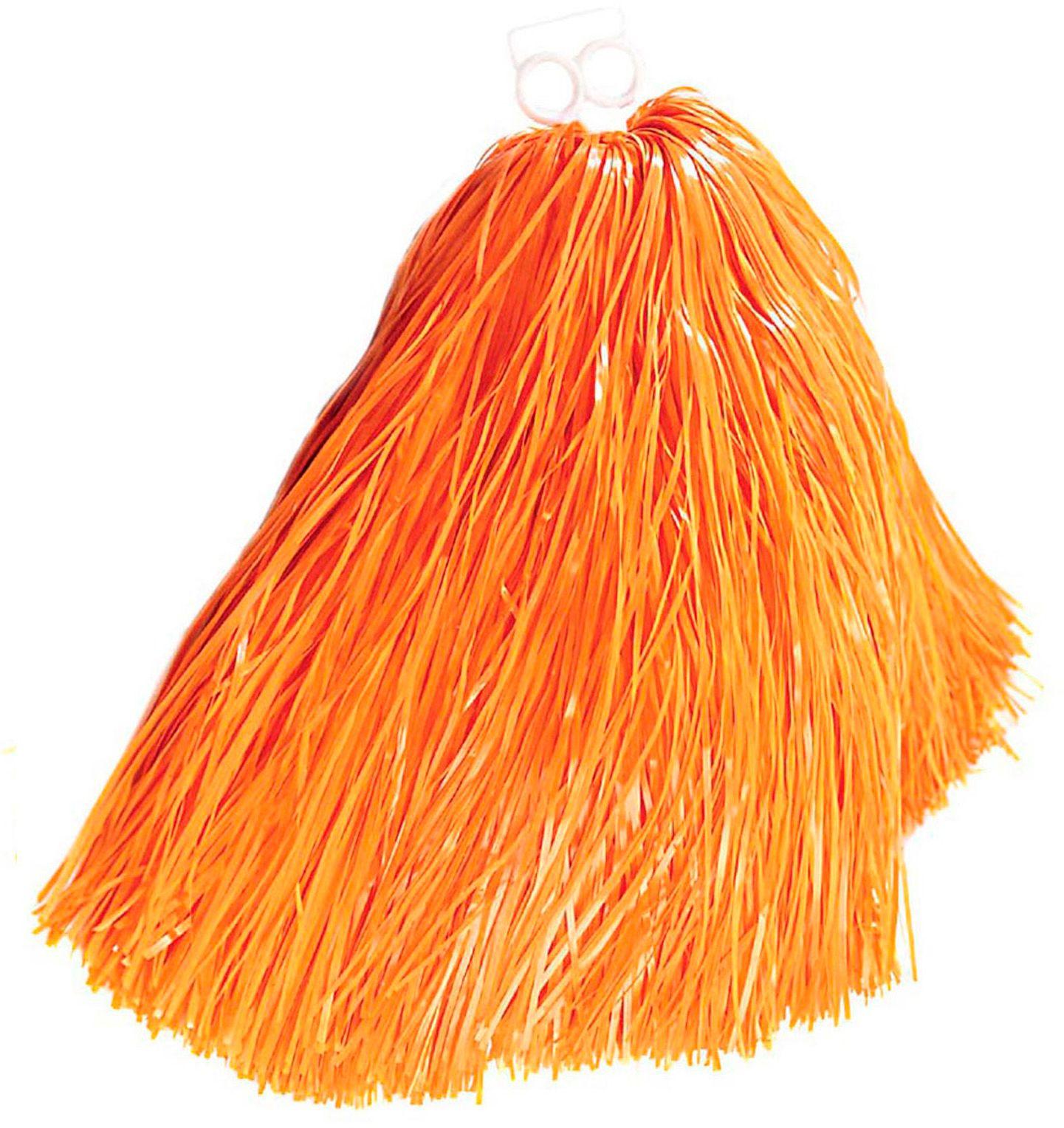Oranje cheerleader Pom Pom