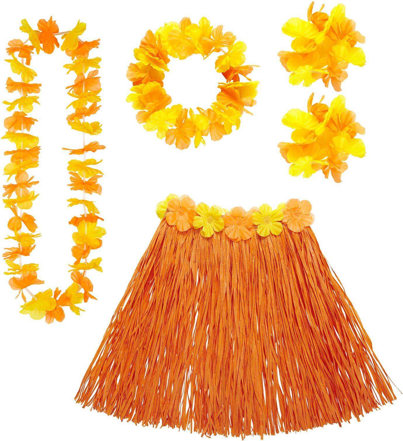 Oranje Hawaii set