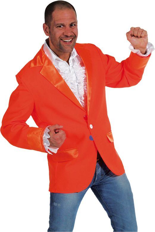 Oranje heren colbert