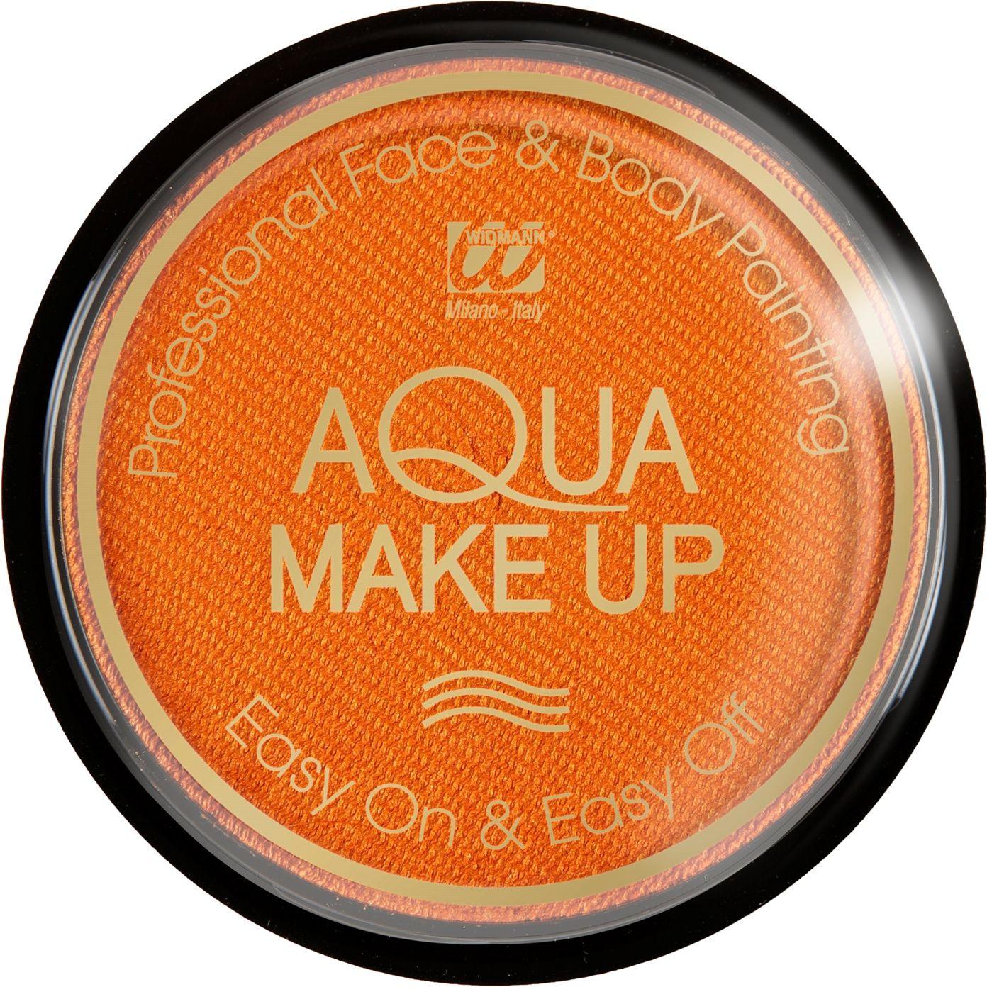 Oranje make-up waterbasis metallic