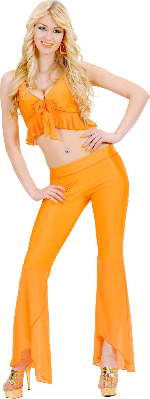 Oranje samba top en broek