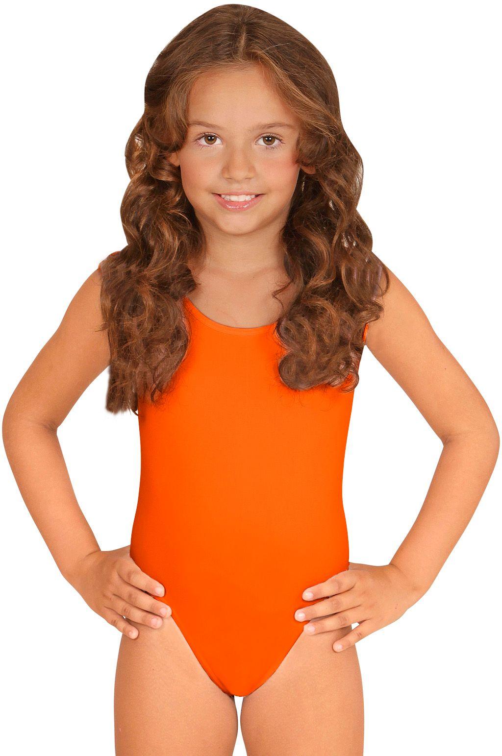 Oranje turnpakje meisjes