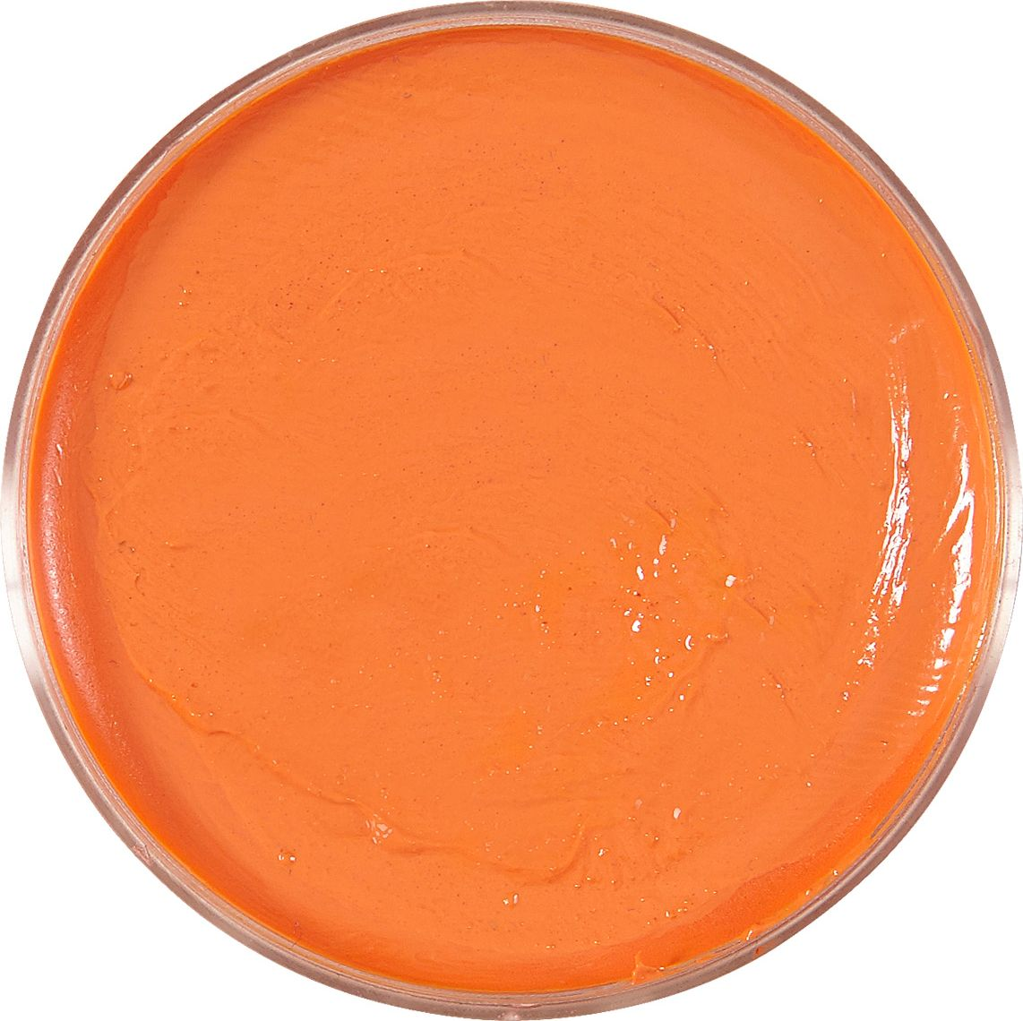 Oranje waterbasis make up