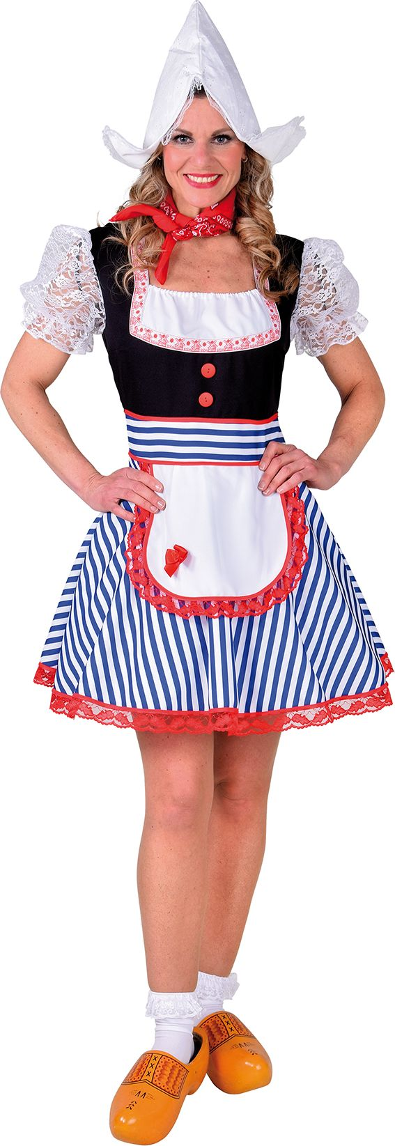 Oud Hollandse carnavals outfit vrouwen