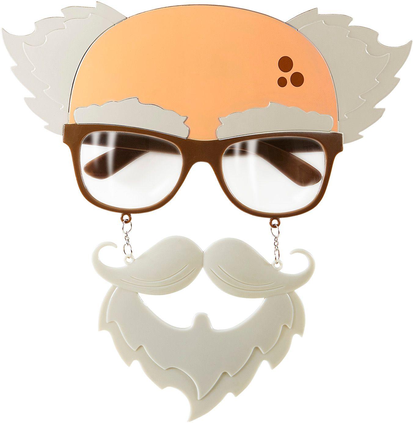 Oude man bril