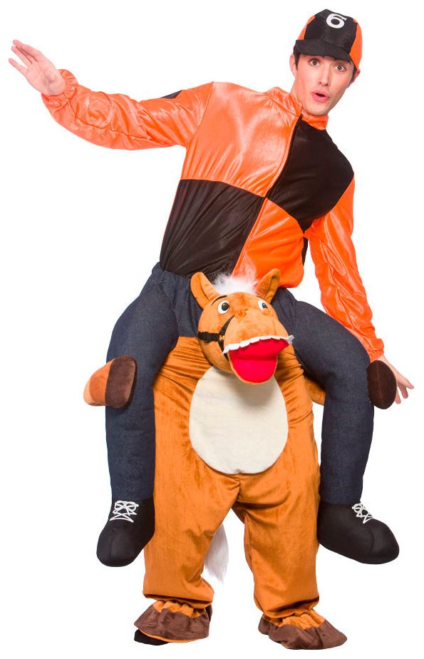 Paard carry me kostuum