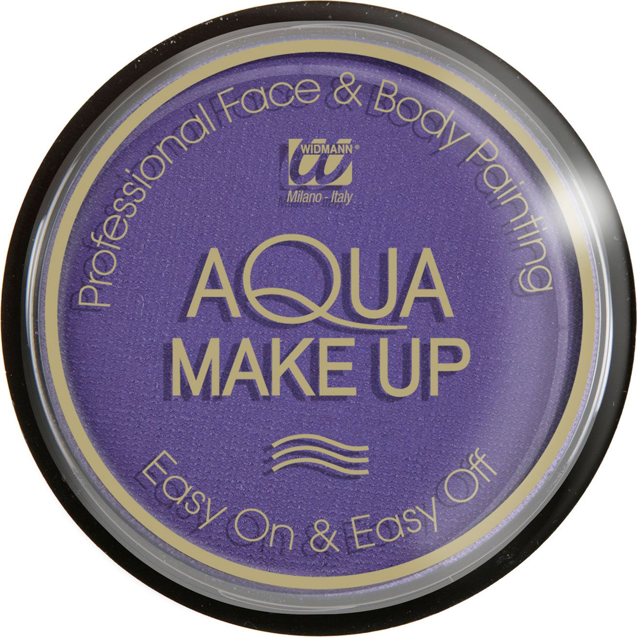 Paarse make-up waterbasis