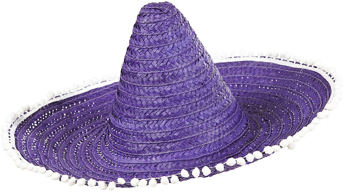 Paarse sombrero