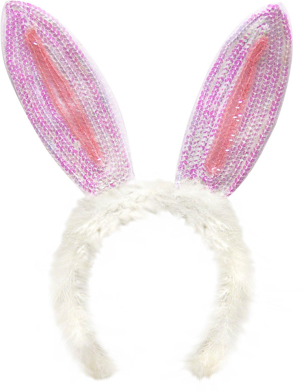Pailletten bunny oren