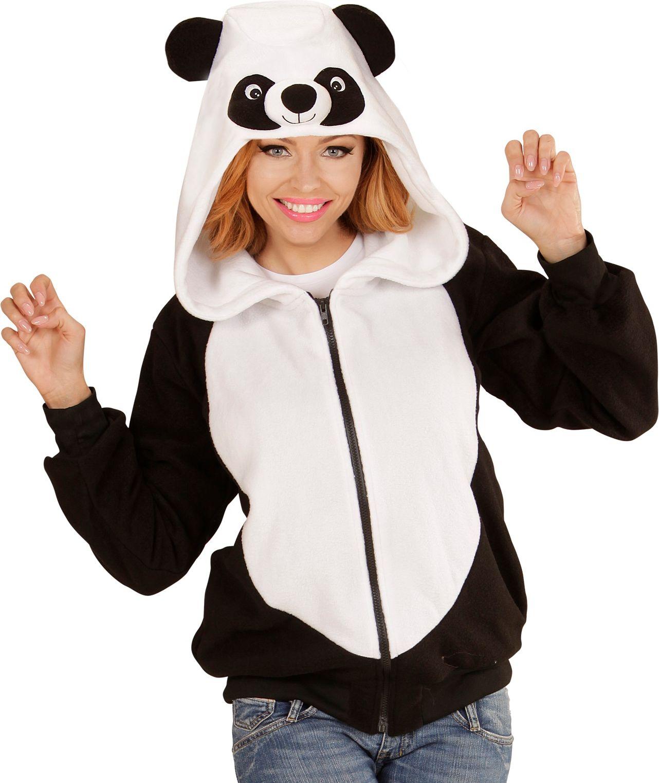 Panda vest volwassenen