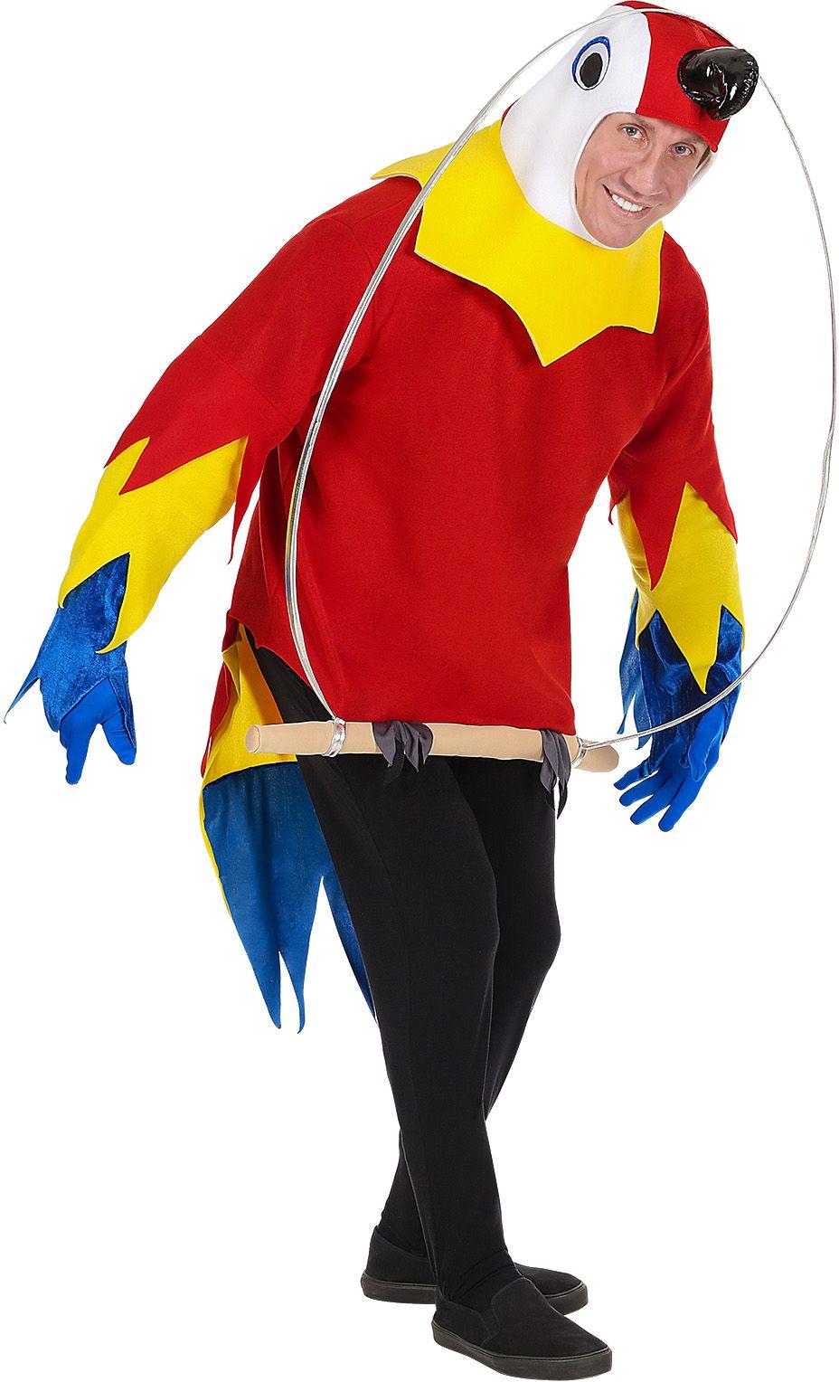 Papagaai kostuum