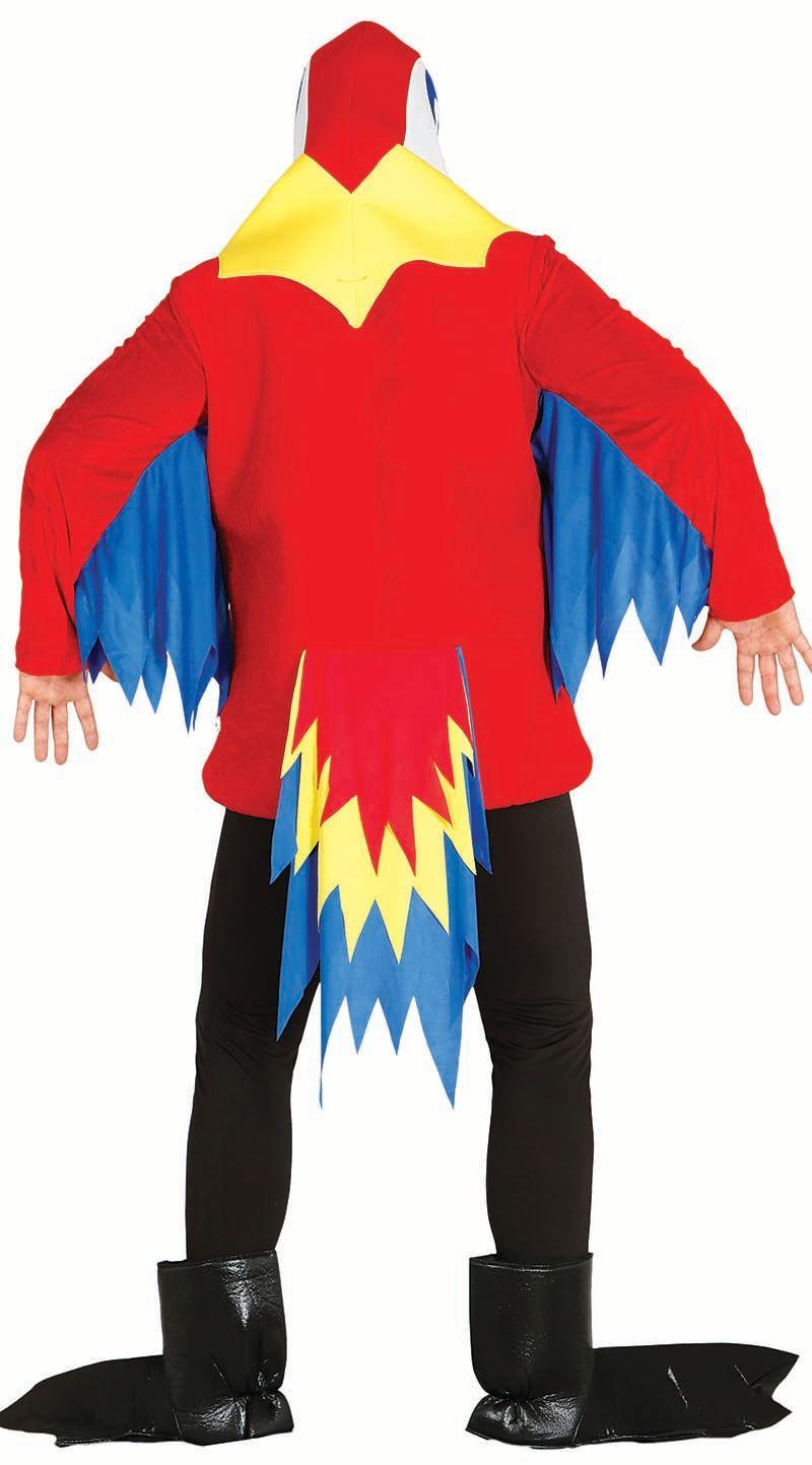 Papegaai kostuum carnaval