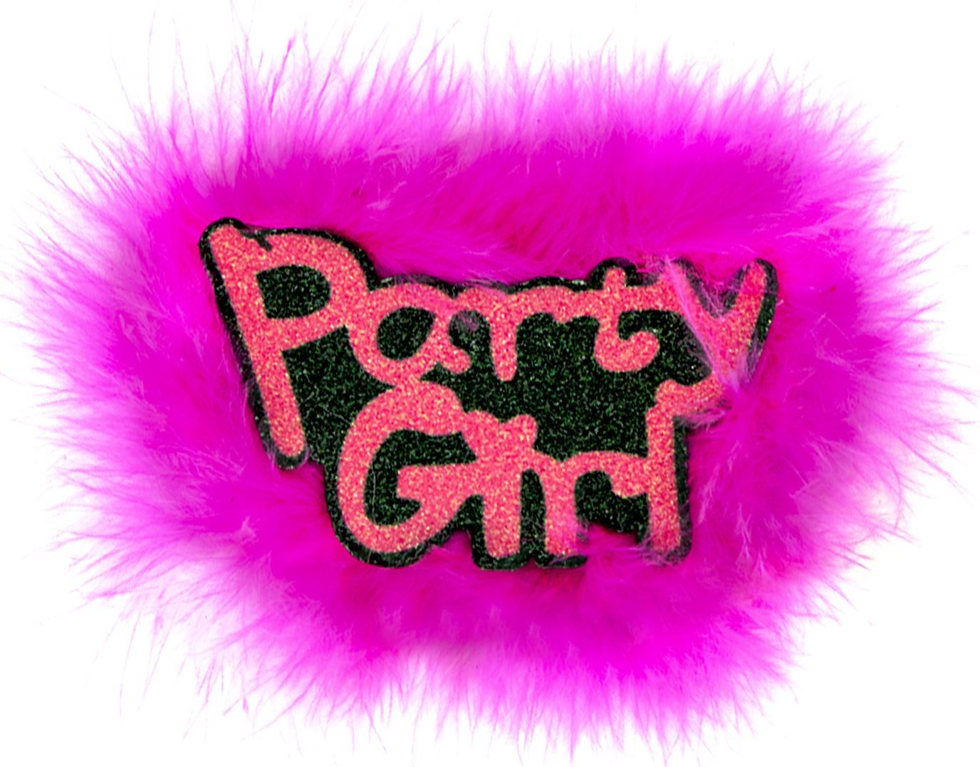 Party girl broche